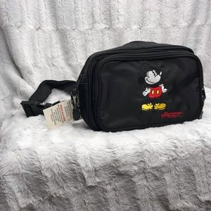 NWT Vintage Mickey Mouse Disney Fanny Pack Bag